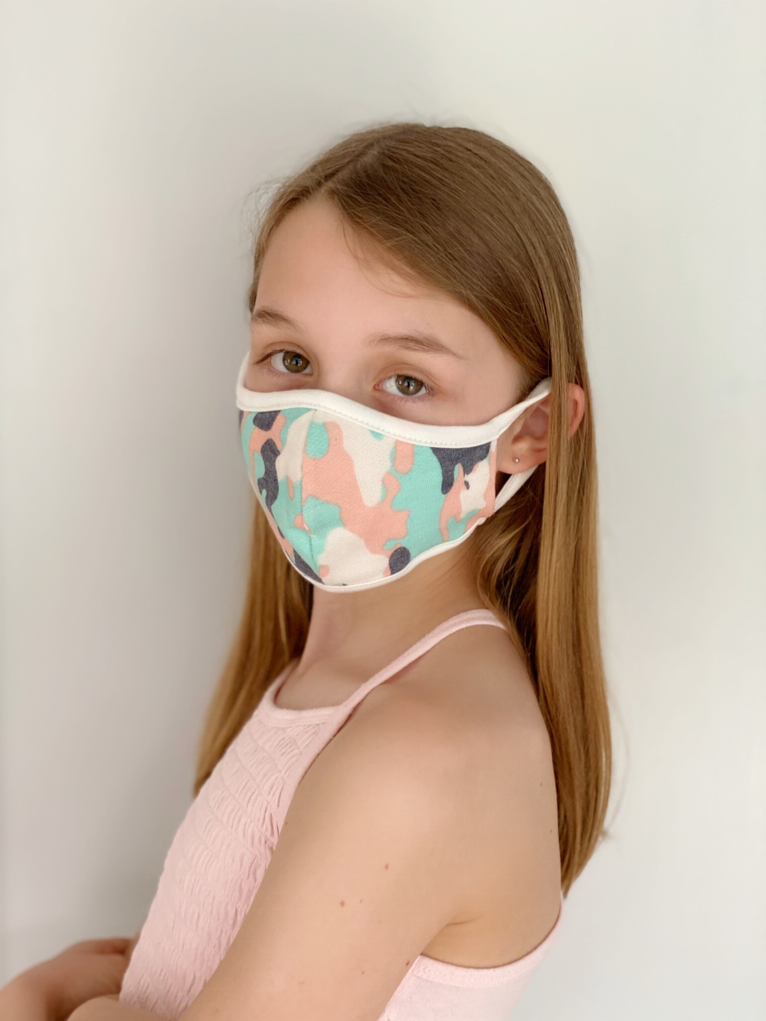 Accessories Kid's Camo Protective Face Mask
