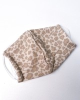 Elastic Sand Leopard Protective Face Mask