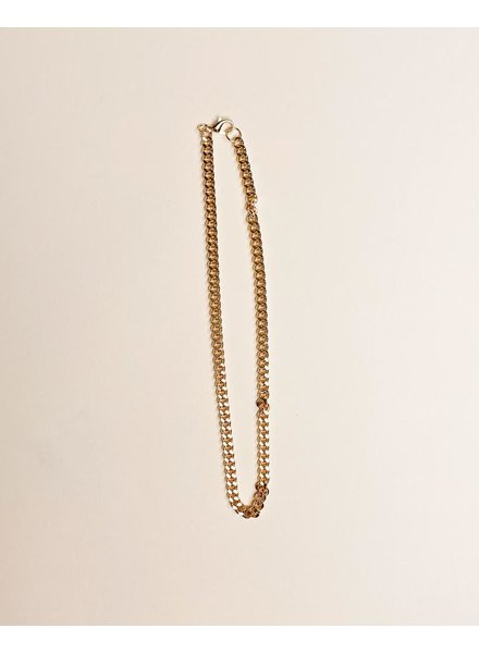 Gold Veronica Every Day Chain Necklace