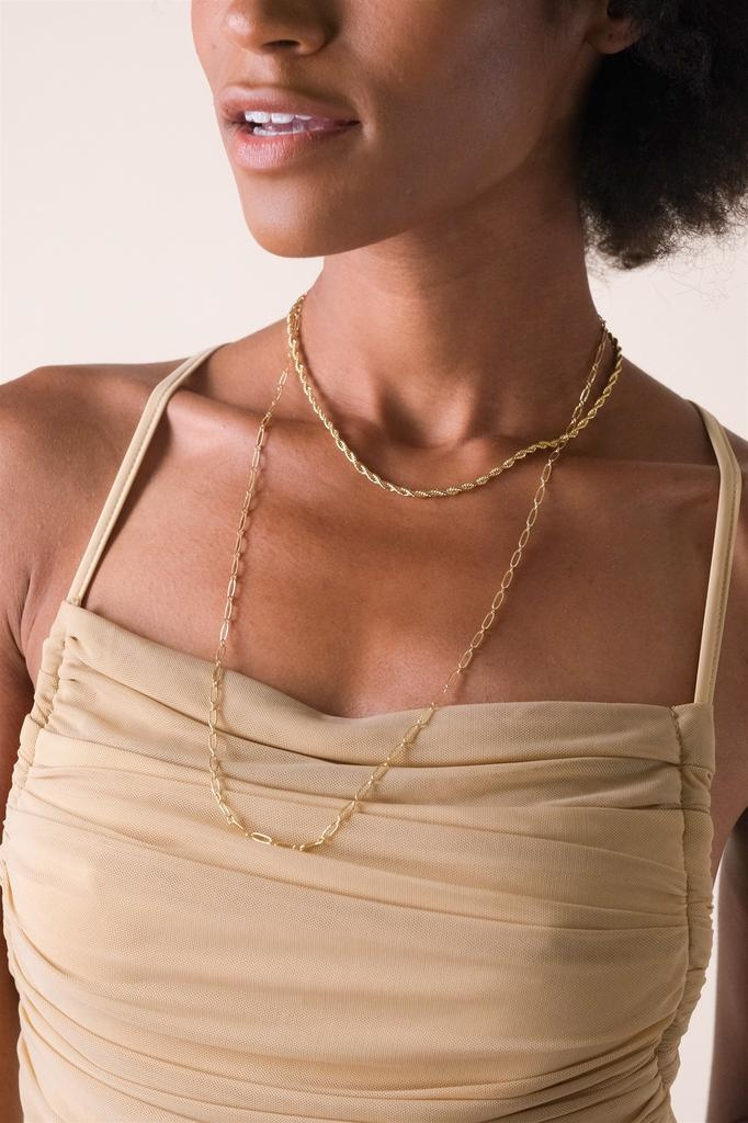 Gold Layla Layered Necklace