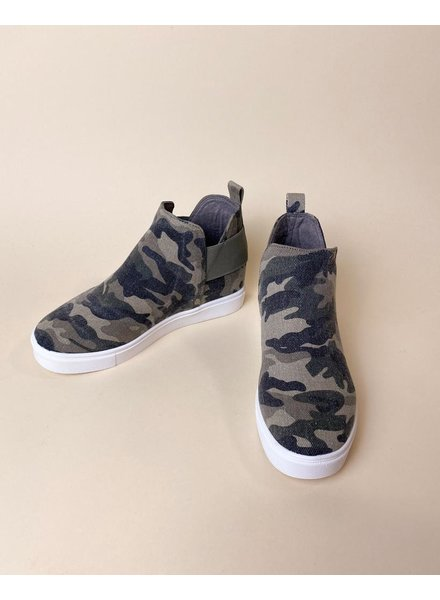 Wedge Army Gal Wedge Sneakers