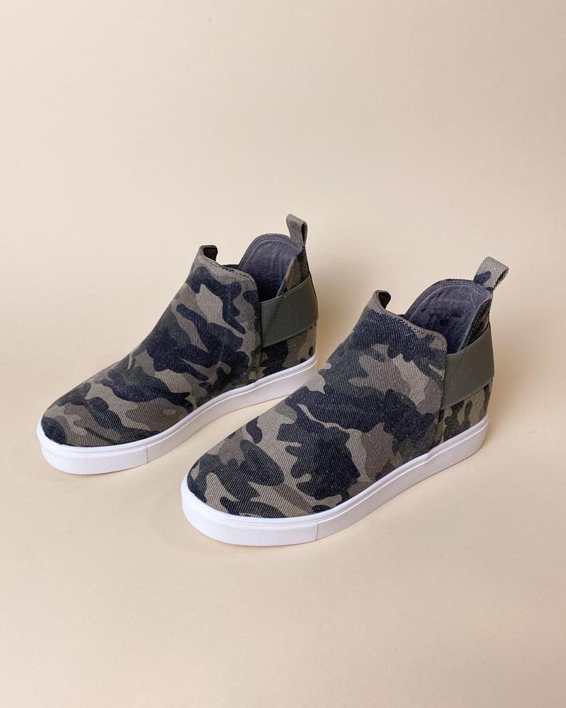 Wedge Army Gal Wedge Sneakers