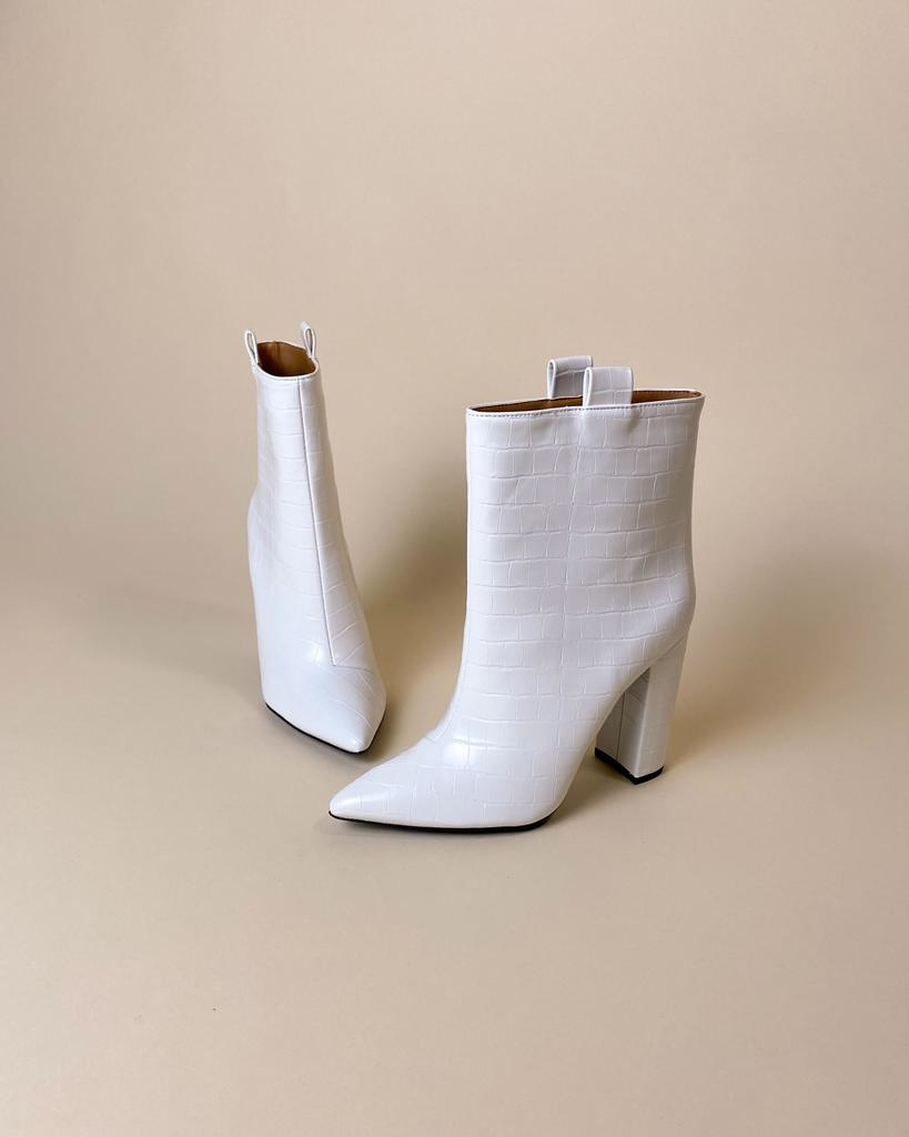 Bootie Soul Sister White Bootie
