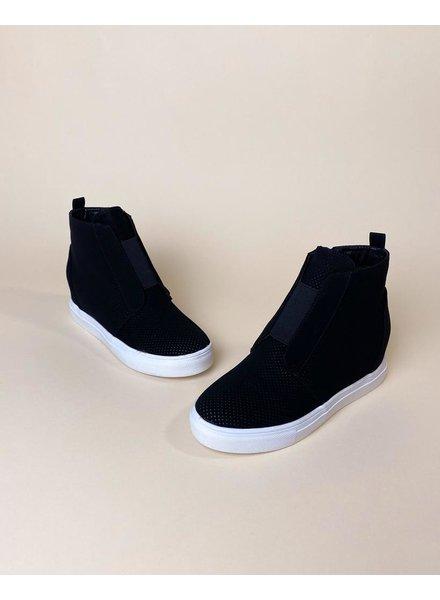 Flat Just For Kicks Wedge Sneaker