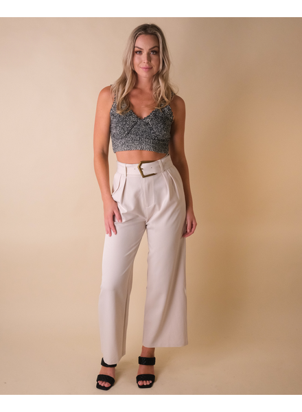 Pants Belted Trouser Pant