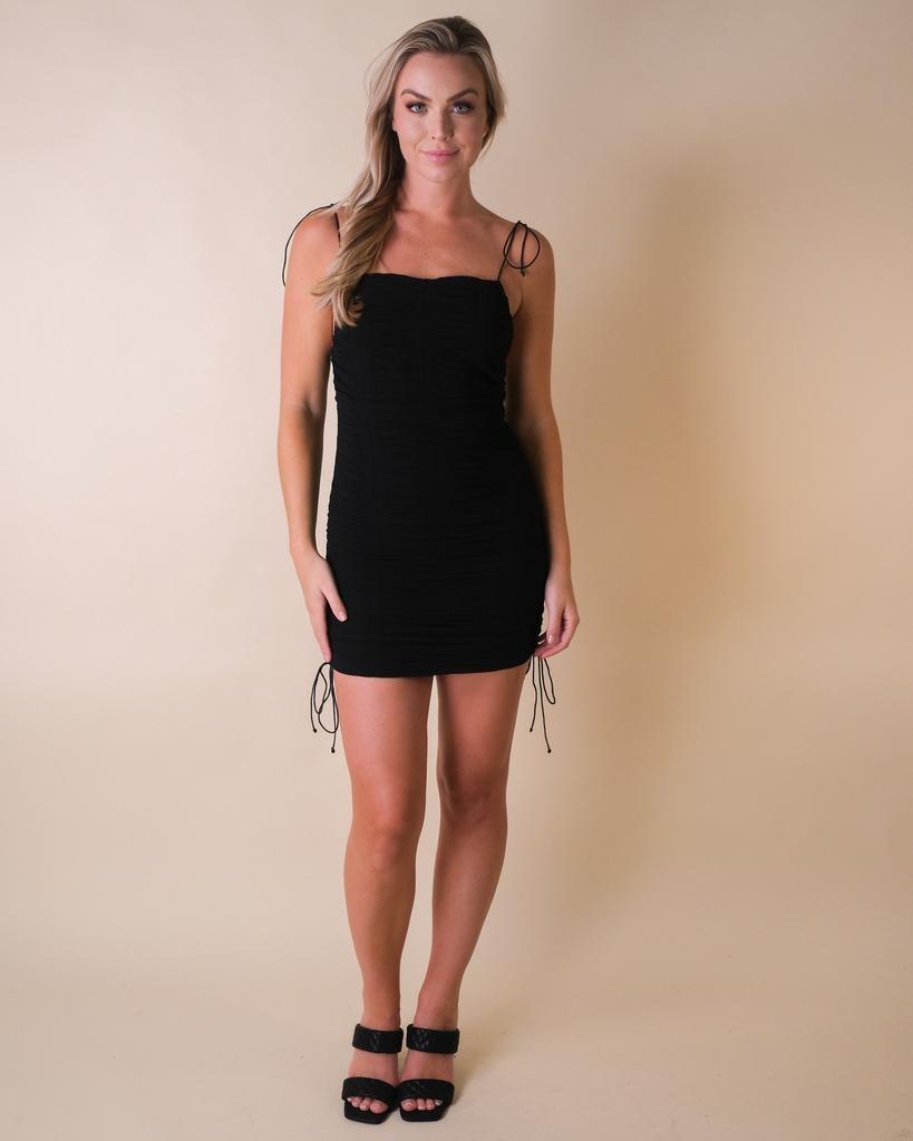 Mini Paparazzi Ruched Dress