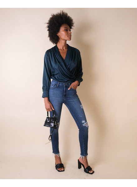 Jeans Destructed High Rise Jean
