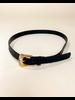 Belt Black Croc Belt
