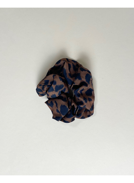 Accessories Chocolate Leopard Scrunchie