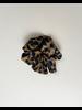 Accessories Mustard Leopard Scrunchie