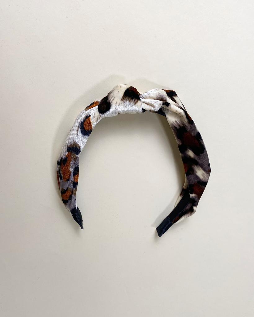 Headband Smooth As Velvet Leopard Headband