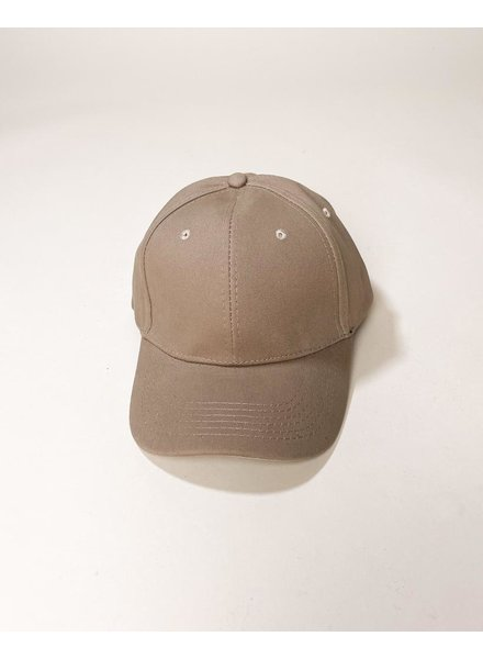 Hat Taupe Take Me Out To The Ball Game Hat