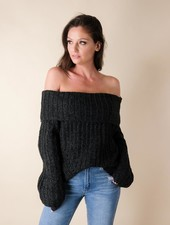 Knit Cozy Charcoal Knit