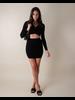 Skirt Small Talk Mini Skirt
