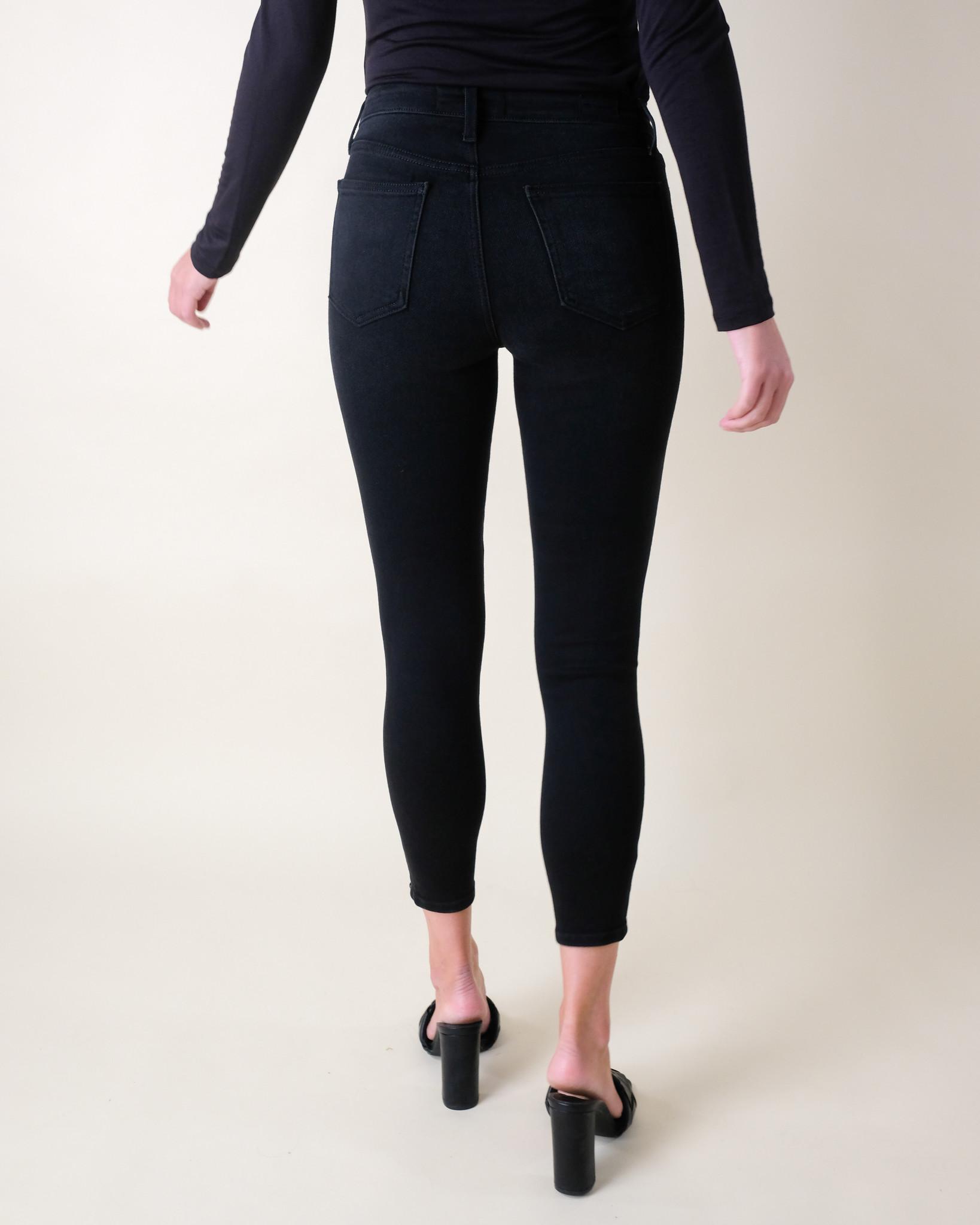 Jeans Washed Black Skinny