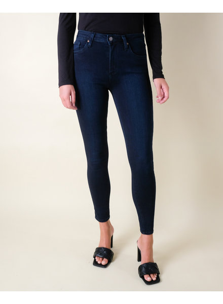 Jeans Dark Denim High Rise Skinny Jean