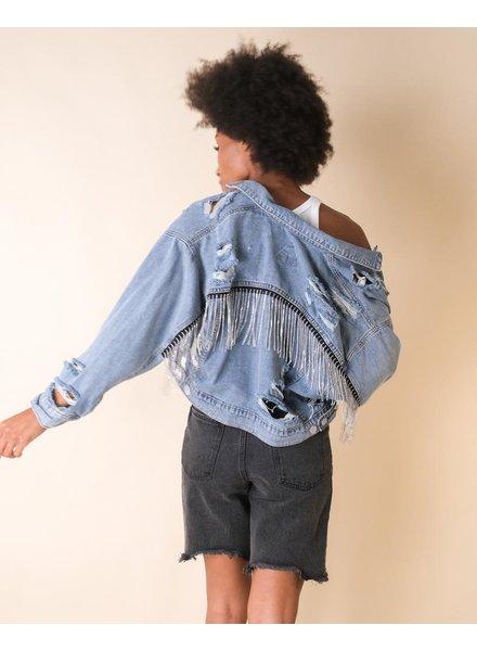 Lightweight Shine Bright Denim Jacket