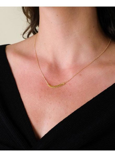 Gold Less Is More Chain Necklace
