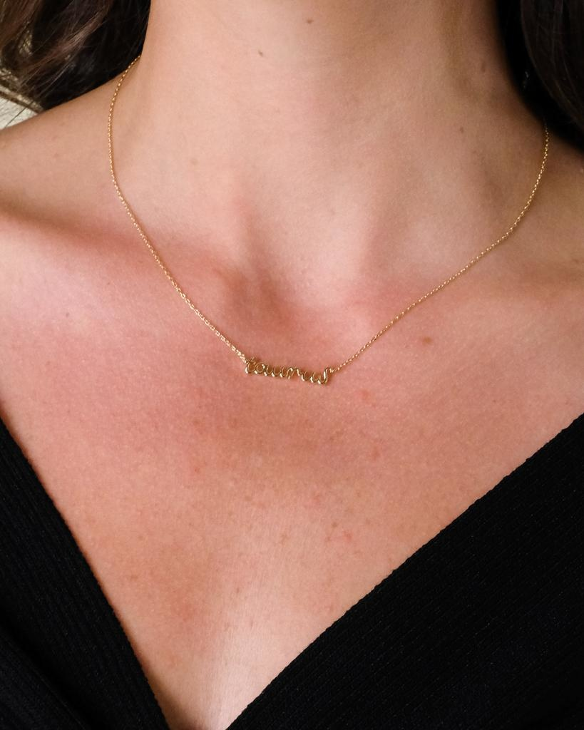 Gold What's Your Sign Necklace