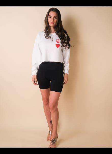 Sweatshirt Queen of Hearts Pullover