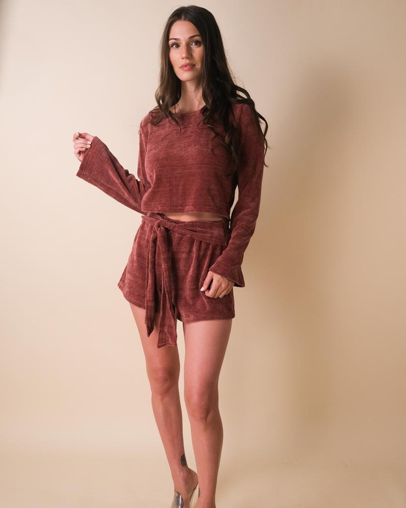 Shorts Mi Amor Chenille Shorts