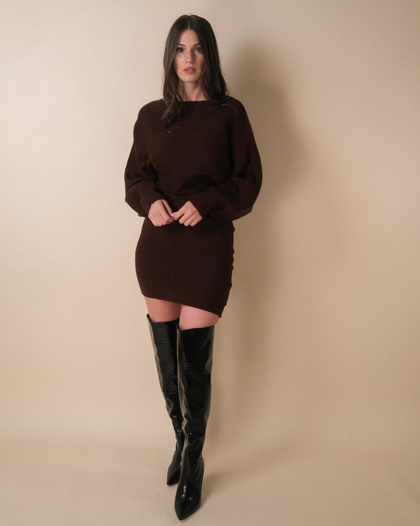 Knit Between Me And You Sweater Dress