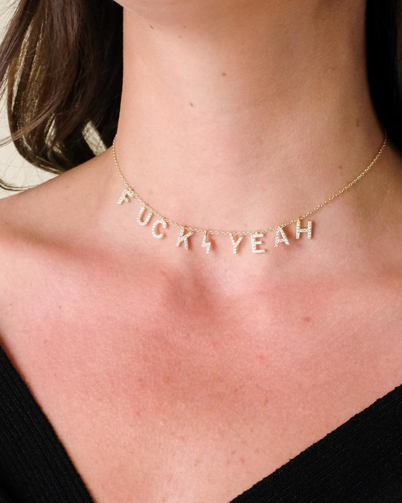 Sterling All In Gold Sterling Necklace