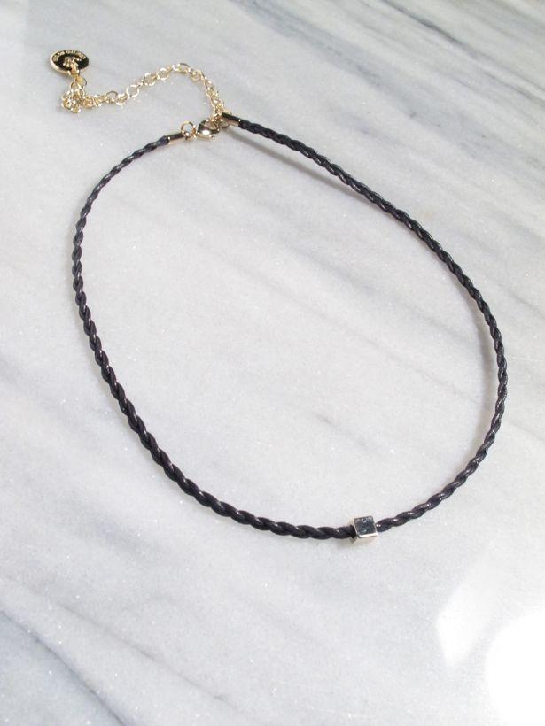 Choker Black rope choker