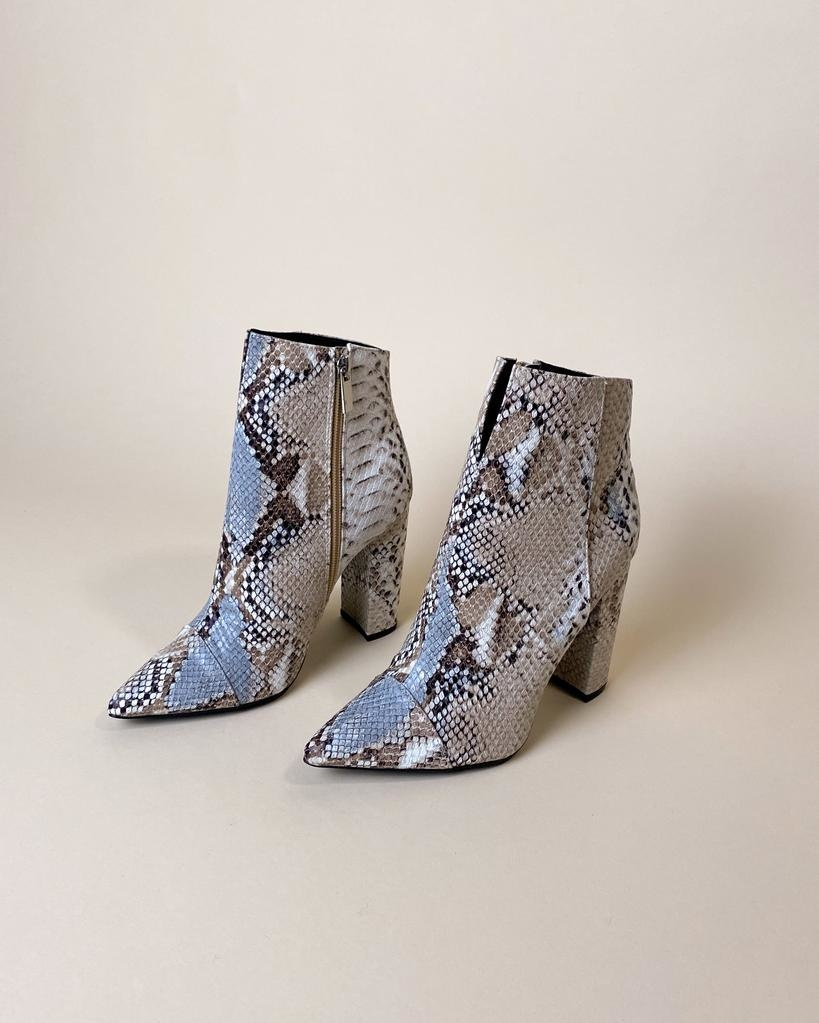 Bootie Hissy Fit Snake Bootie