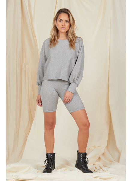 Knit Living In It Pullover