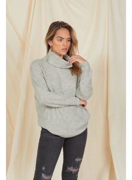 Knit Knit's Snowing Turtleneck