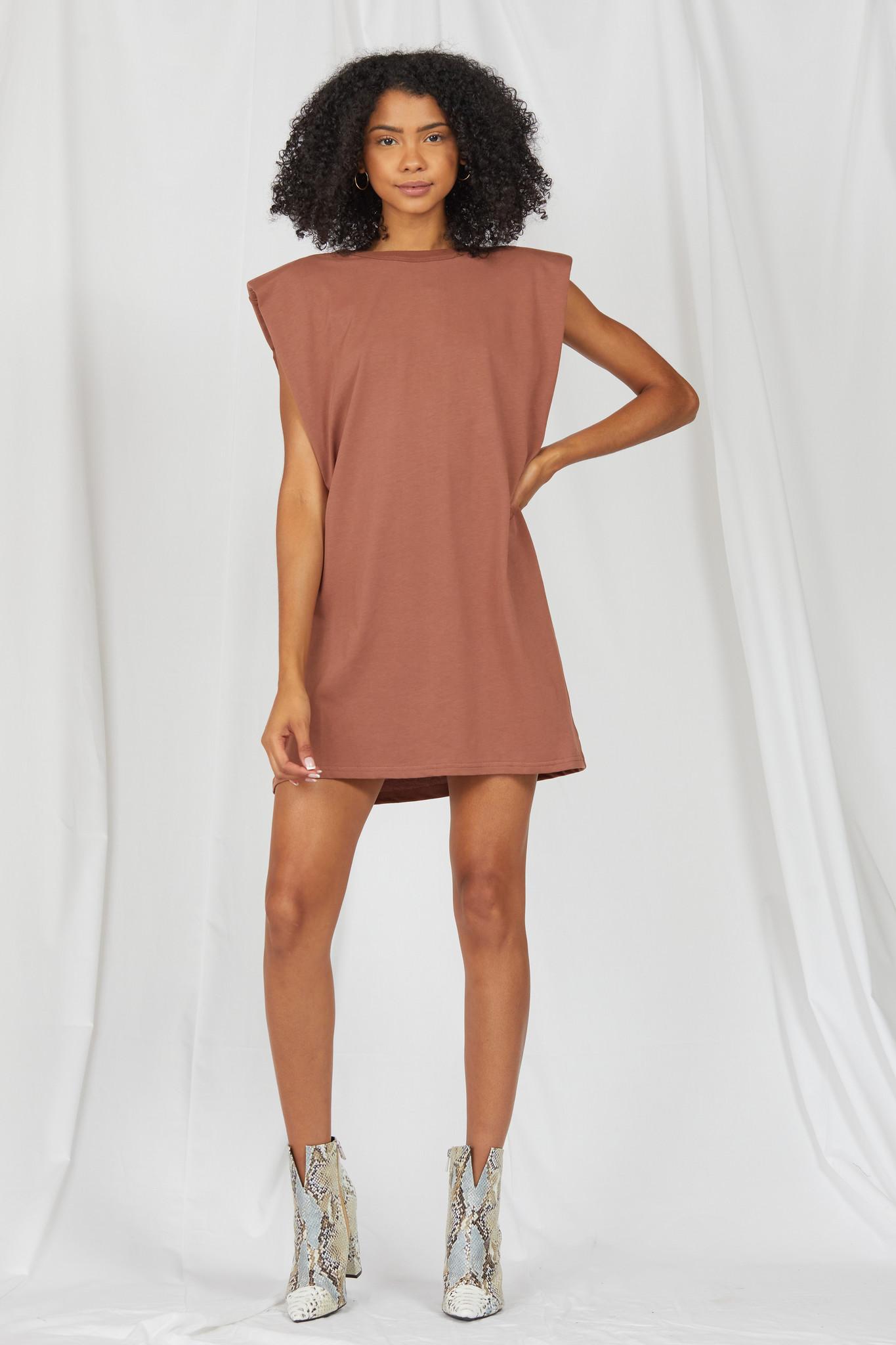 Mini Leveling Up Muscle Tee Dress
