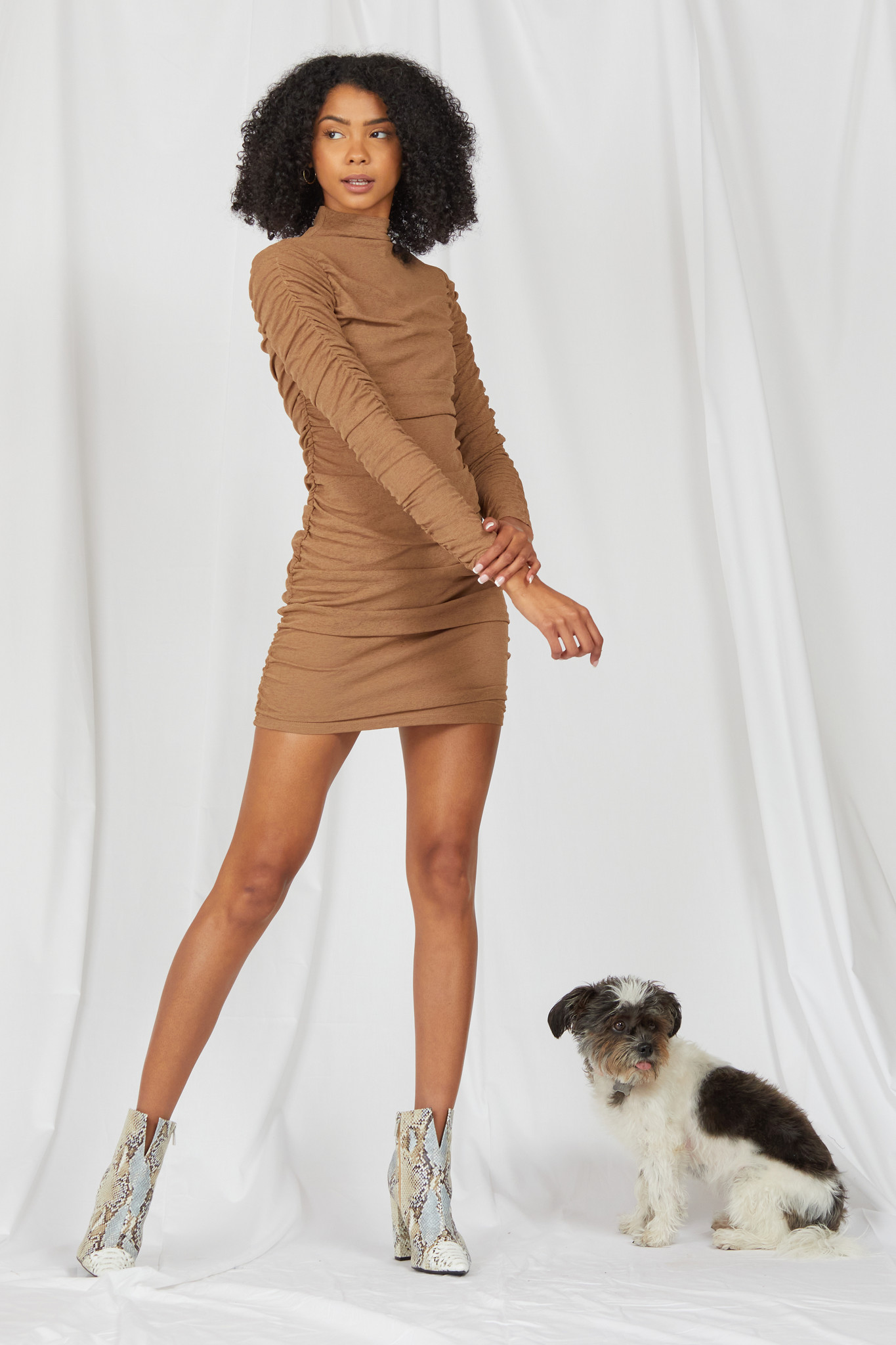 Mini Sheer Goes Nothing Mini Dress