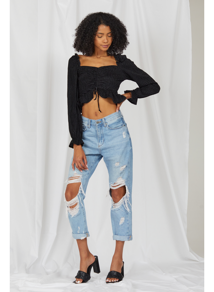 Crop Weekending Crop Top