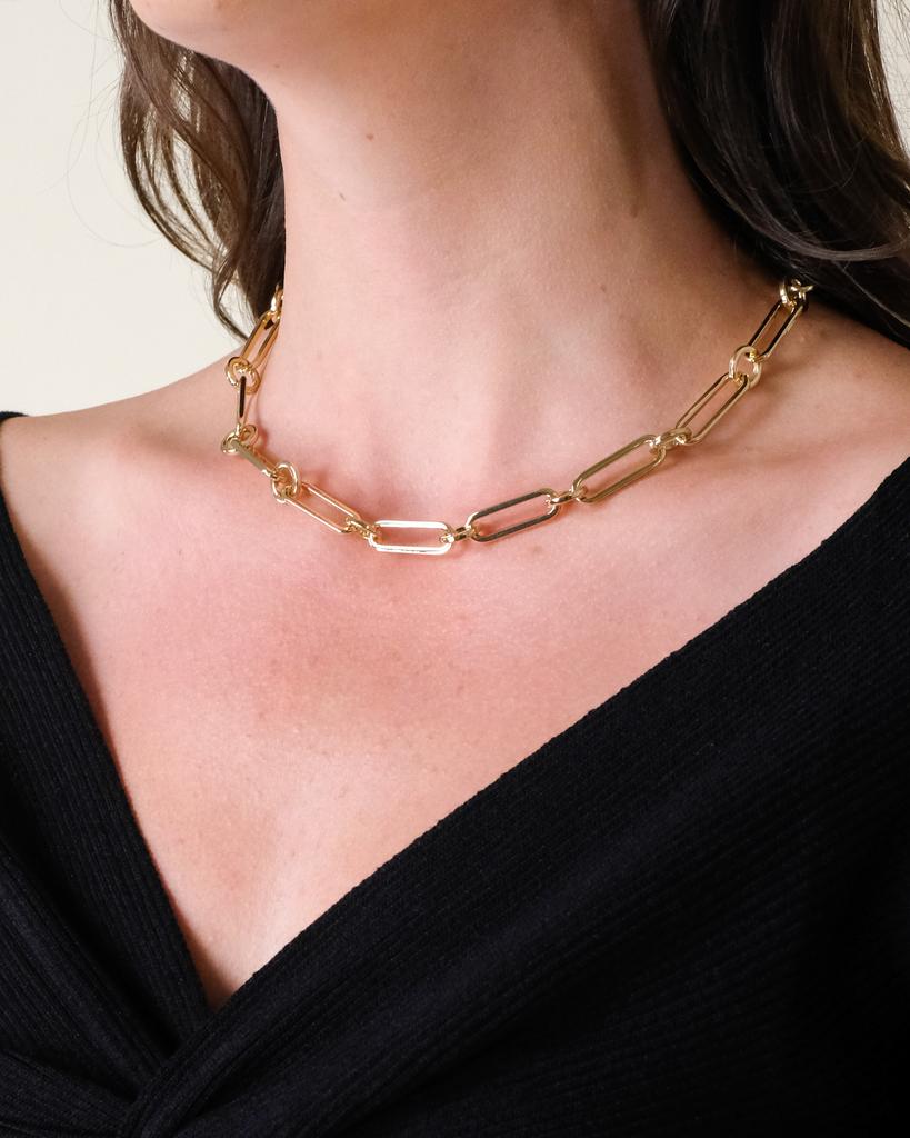 Gold Kimberly Layered Necklace