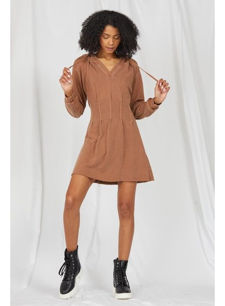 Mini Autumn Daze Hoodie Dress