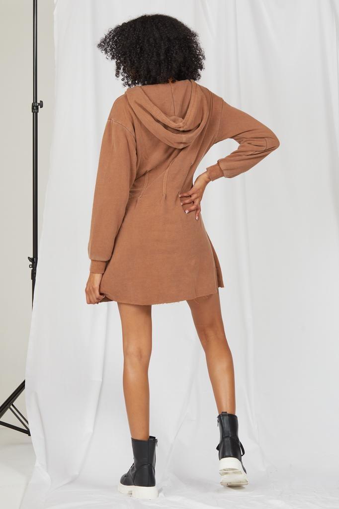 Mini Autumn Daze Hoodie Dress