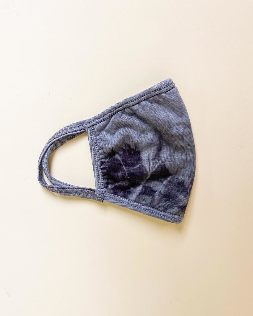 Accessories Grey Tie Dye Proctective Face Mask