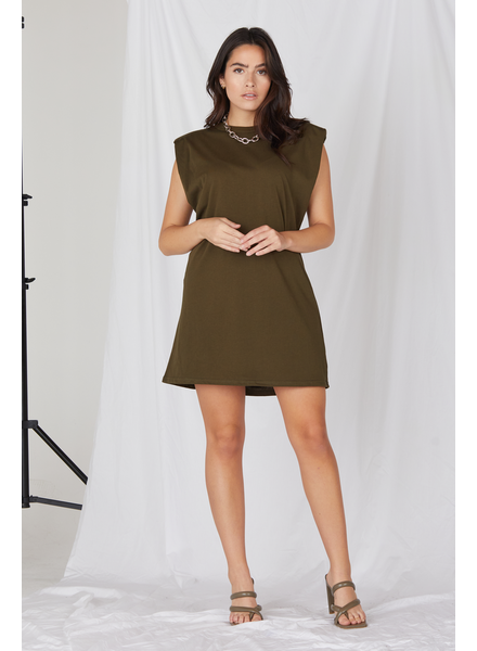 Mini Leveling Up Muscle Tee Dress