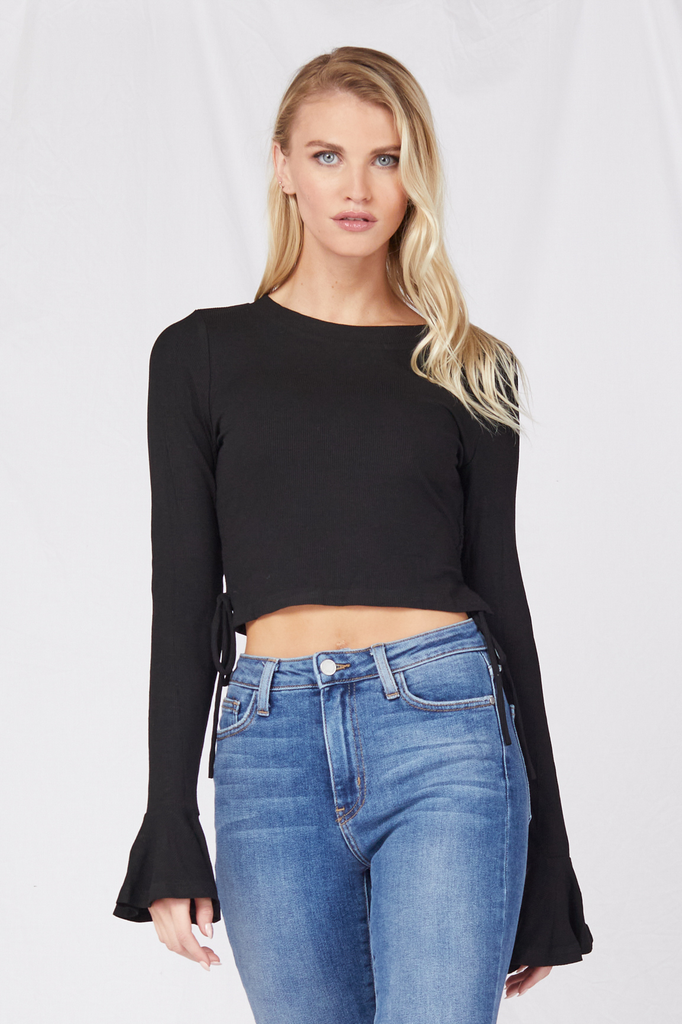 Crop Love Always Top