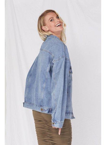 Lightweight Ex Boyfriend Medium Denim Jacket
