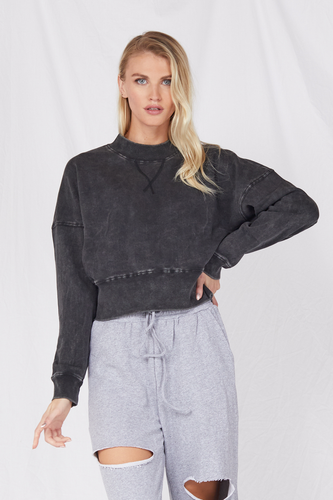 Sweatshirt Turn Up the Stereo Pullover