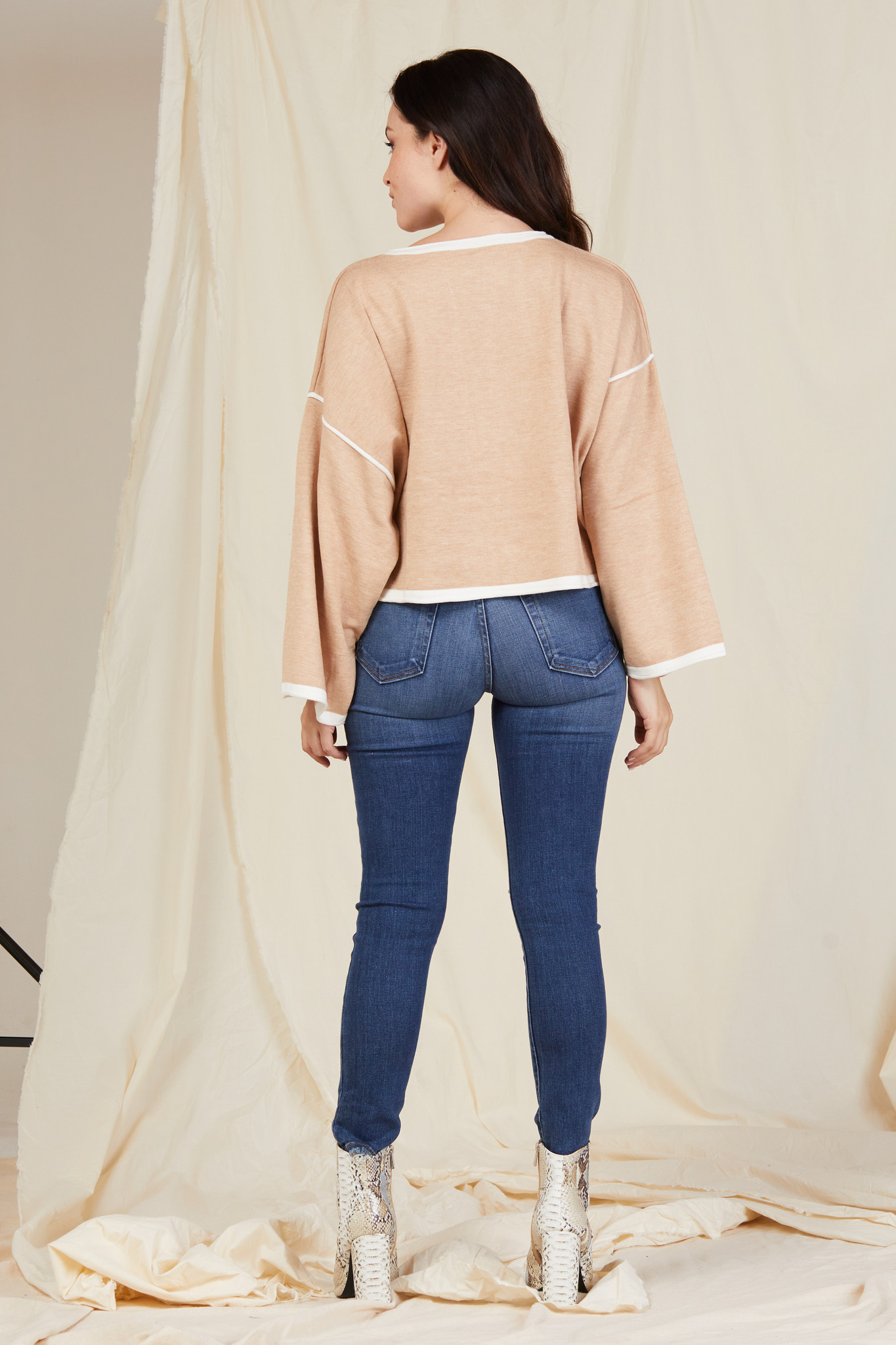 Knit Remain Neutral Top