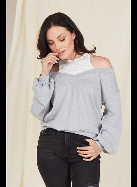 Sweatshirt Double Take Sweatshirt