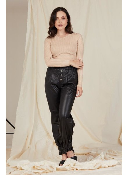 Pants Rock Music Vegan Leather Pants