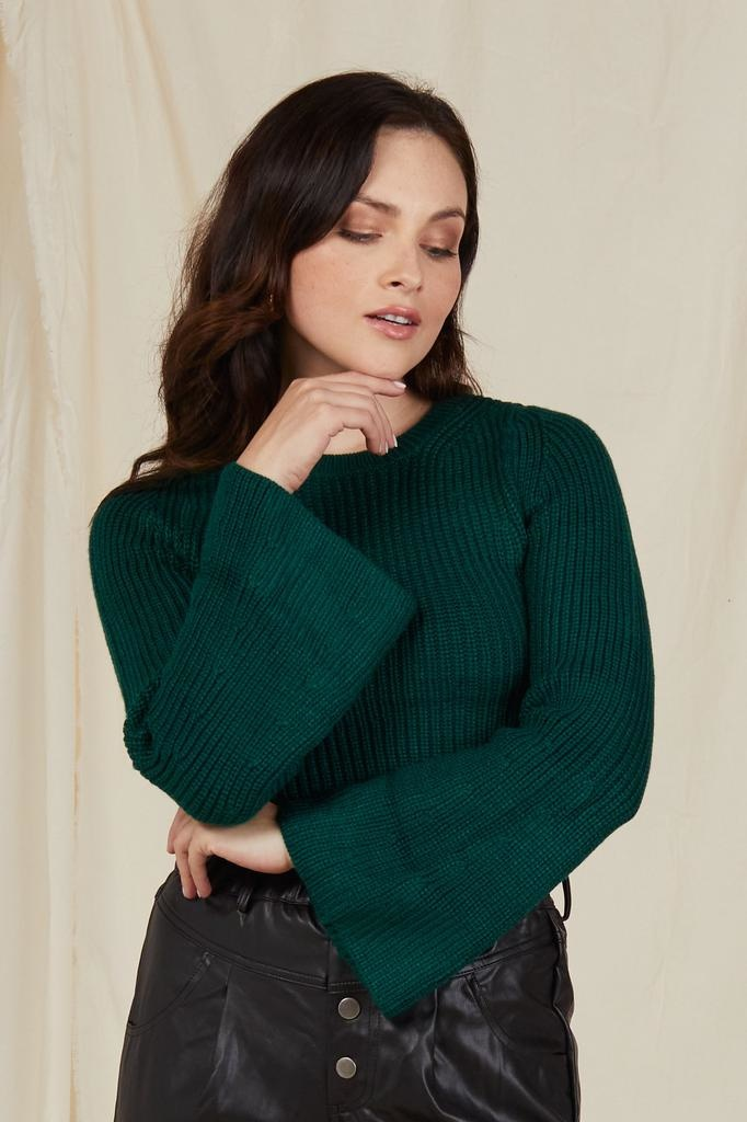 Crop Favorite Weather Cropped Knit