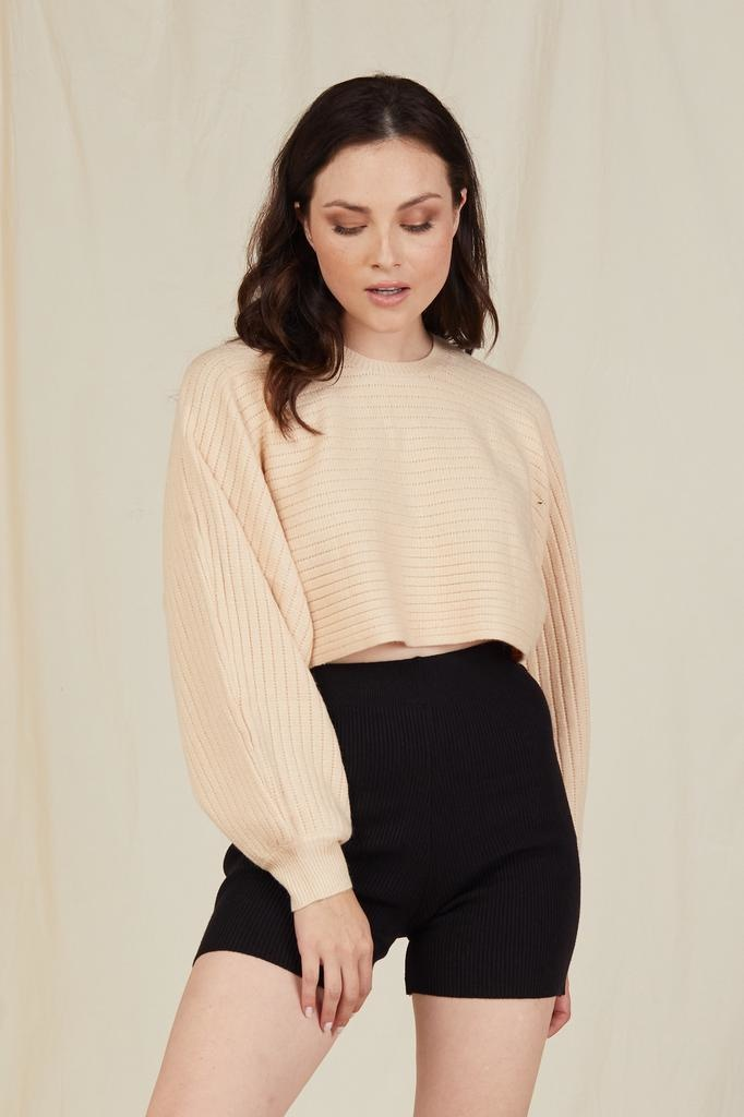 Knit Forever Friend Cropped Knit