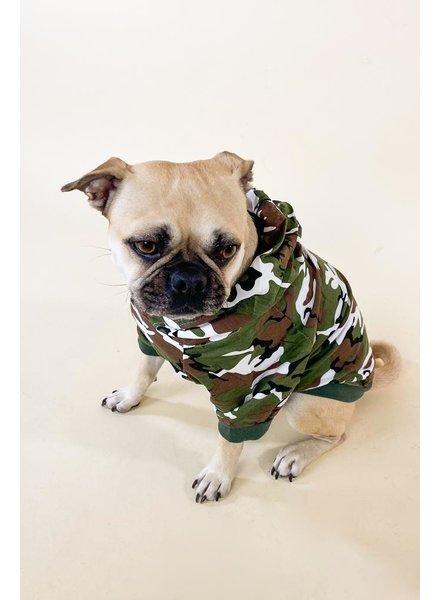 Accessories Camo Dog Hoodie