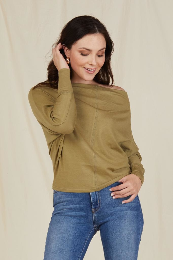 Knit Don't Be Shy Top