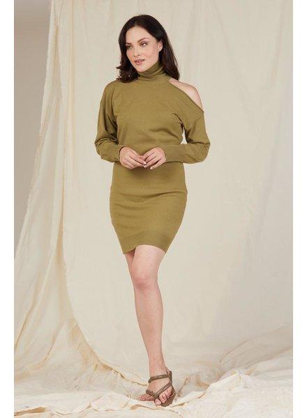 Mini Cold Shoulder Mini Dress